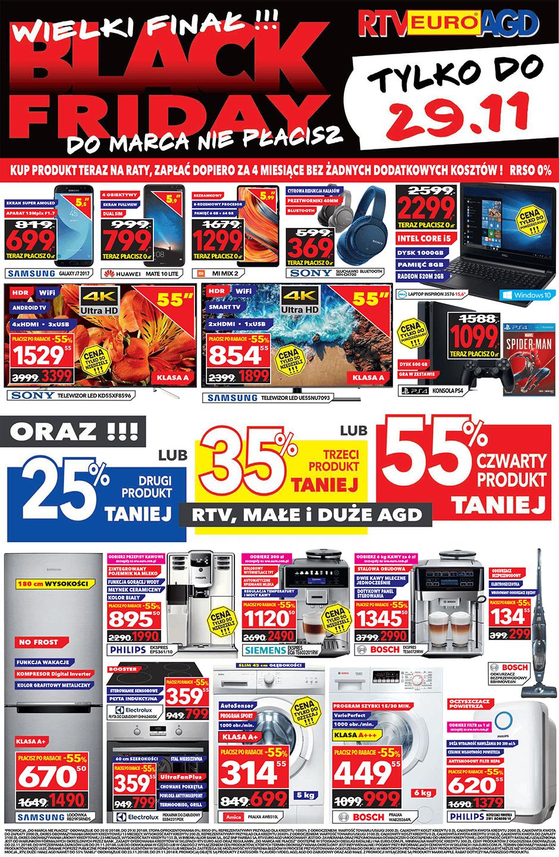 Gazetka promocyjna RTV Euro AGD do 29/11/2018 str.1