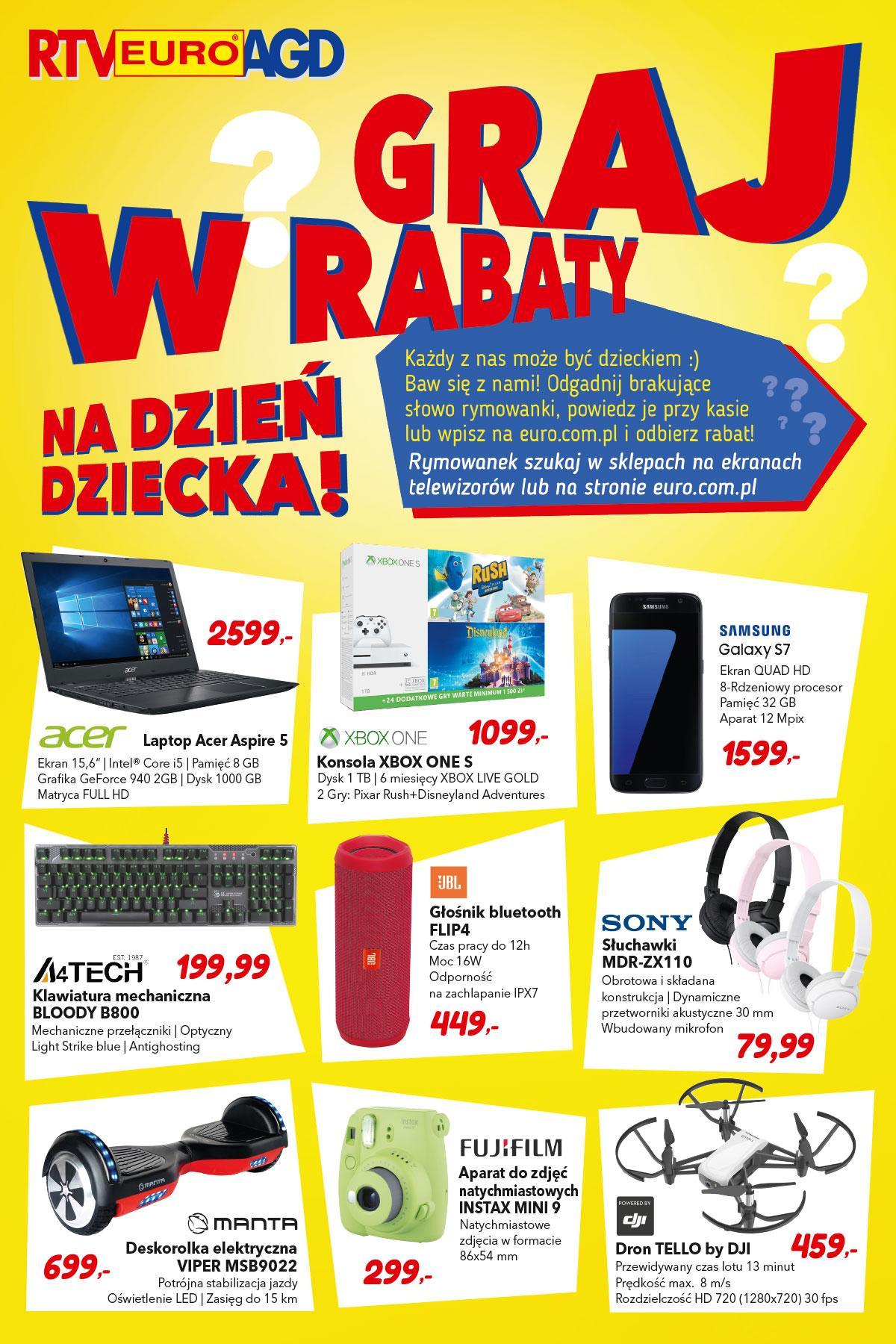 Gazetka promocyjna RTV Euro AGD do 03/06/2018 str.0