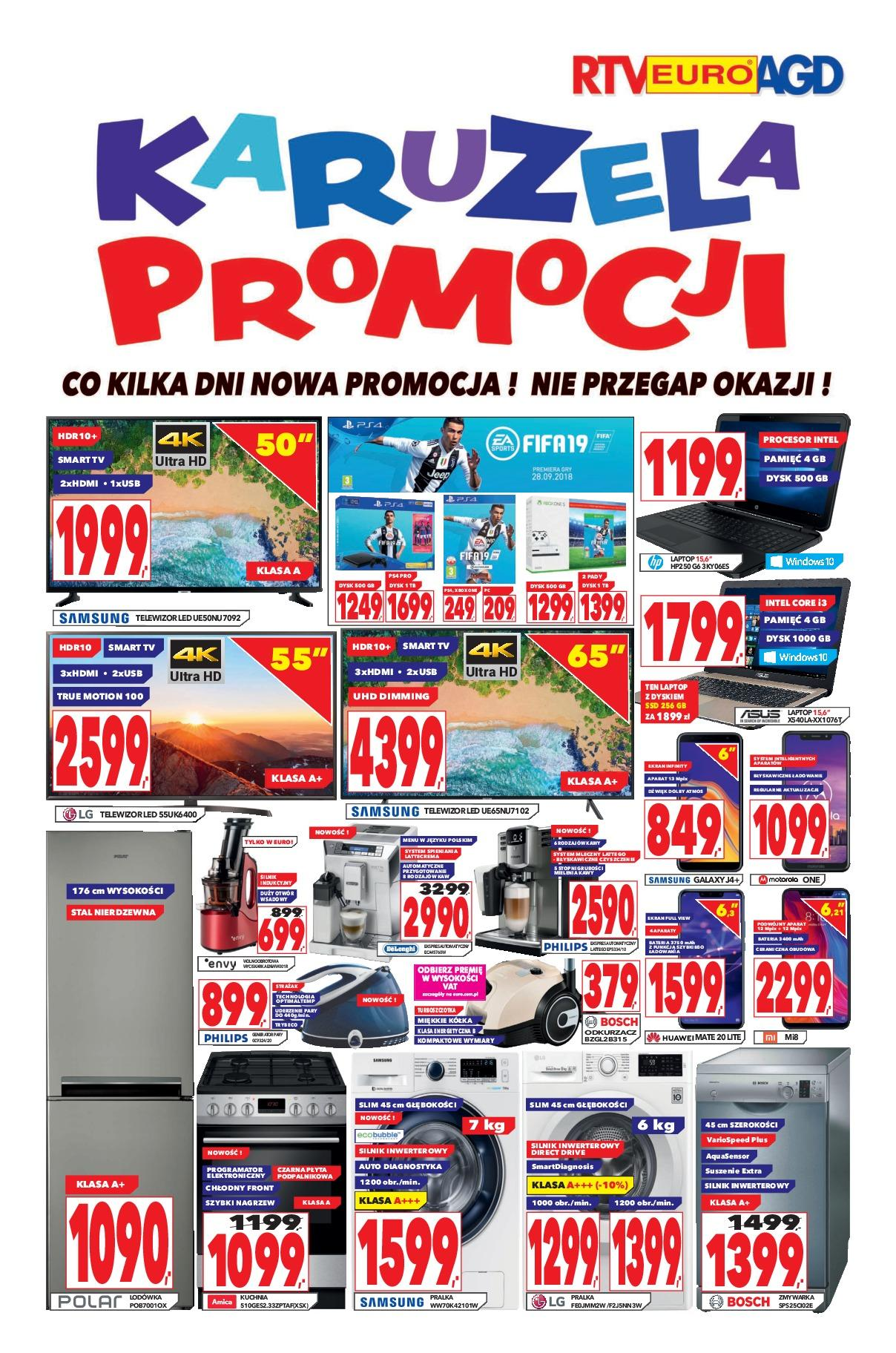 Gazetka promocyjna RTV Euro AGD do 06/11/2018 str.0