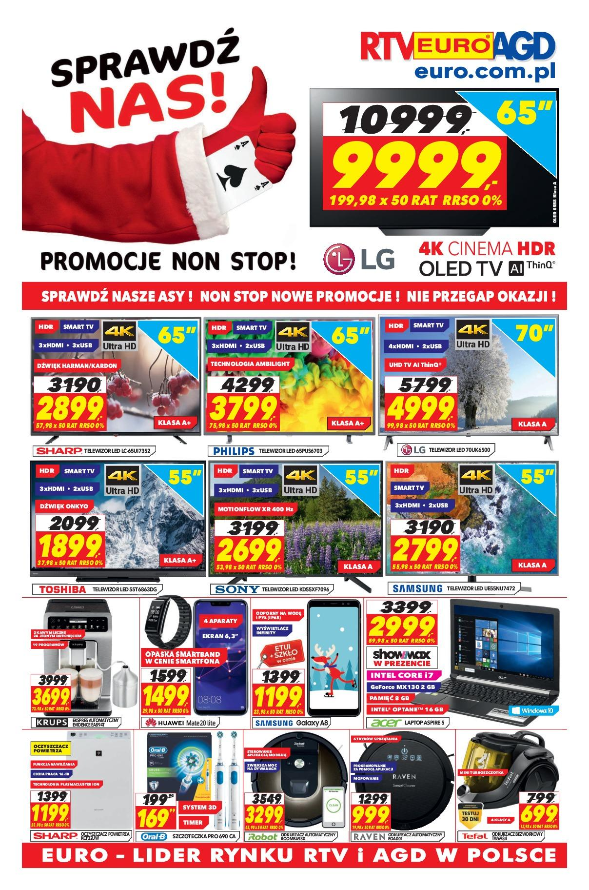 Gazetka promocyjna RTV Euro AGD do 31/12/2018 str.0