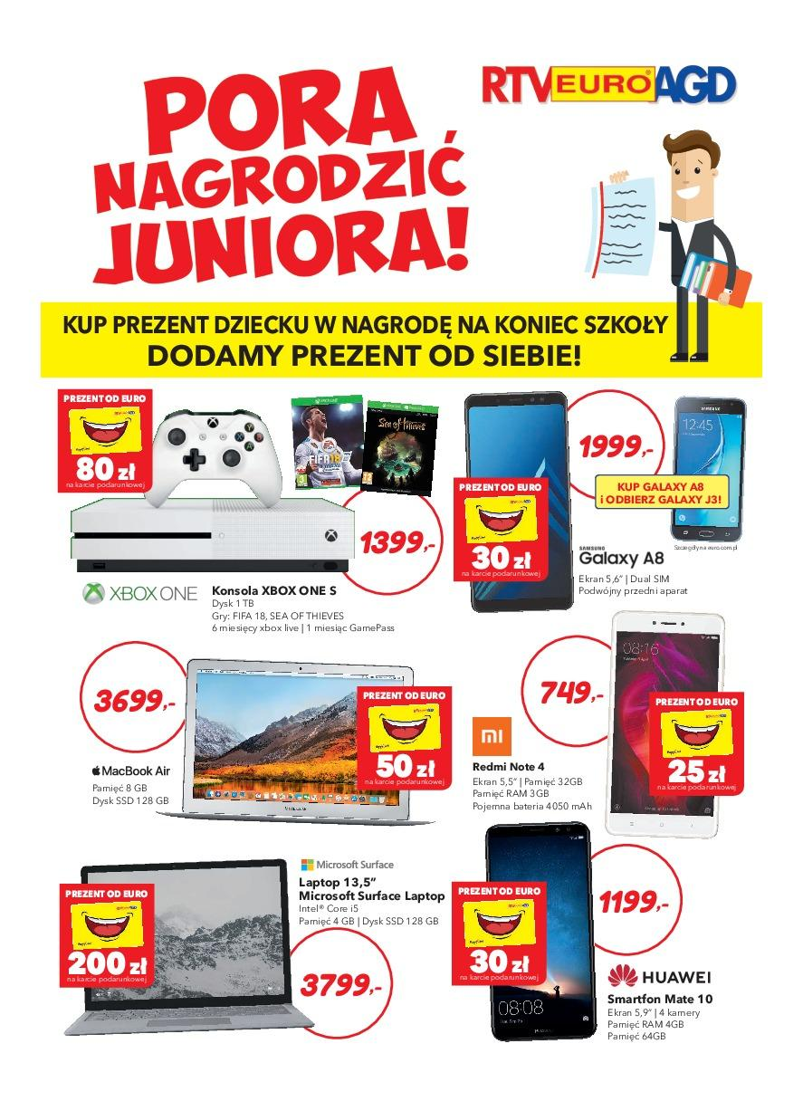 Gazetka promocyjna RTV Euro AGD do 25/06/2018 str.0