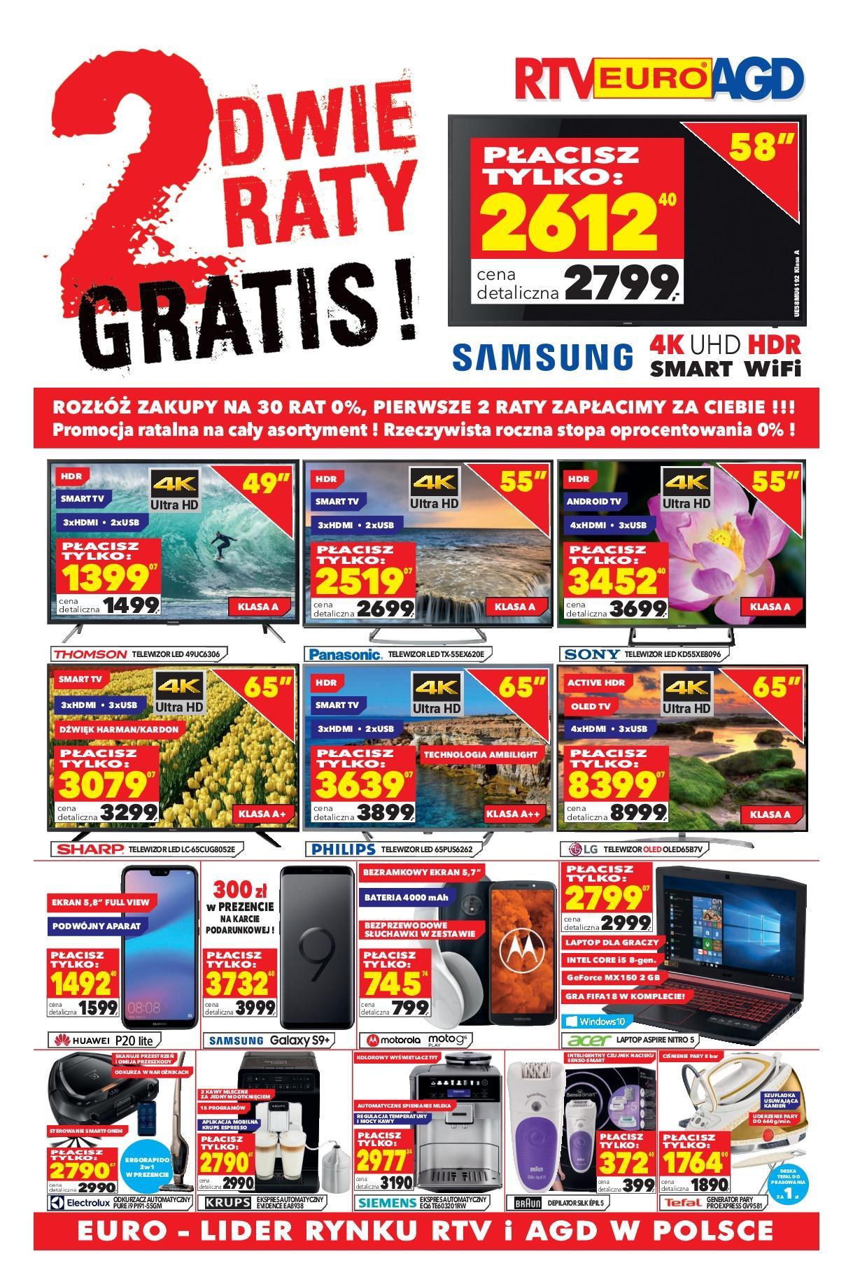 Gazetka promocyjna RTV Euro AGD do 02/07/2018 str.1