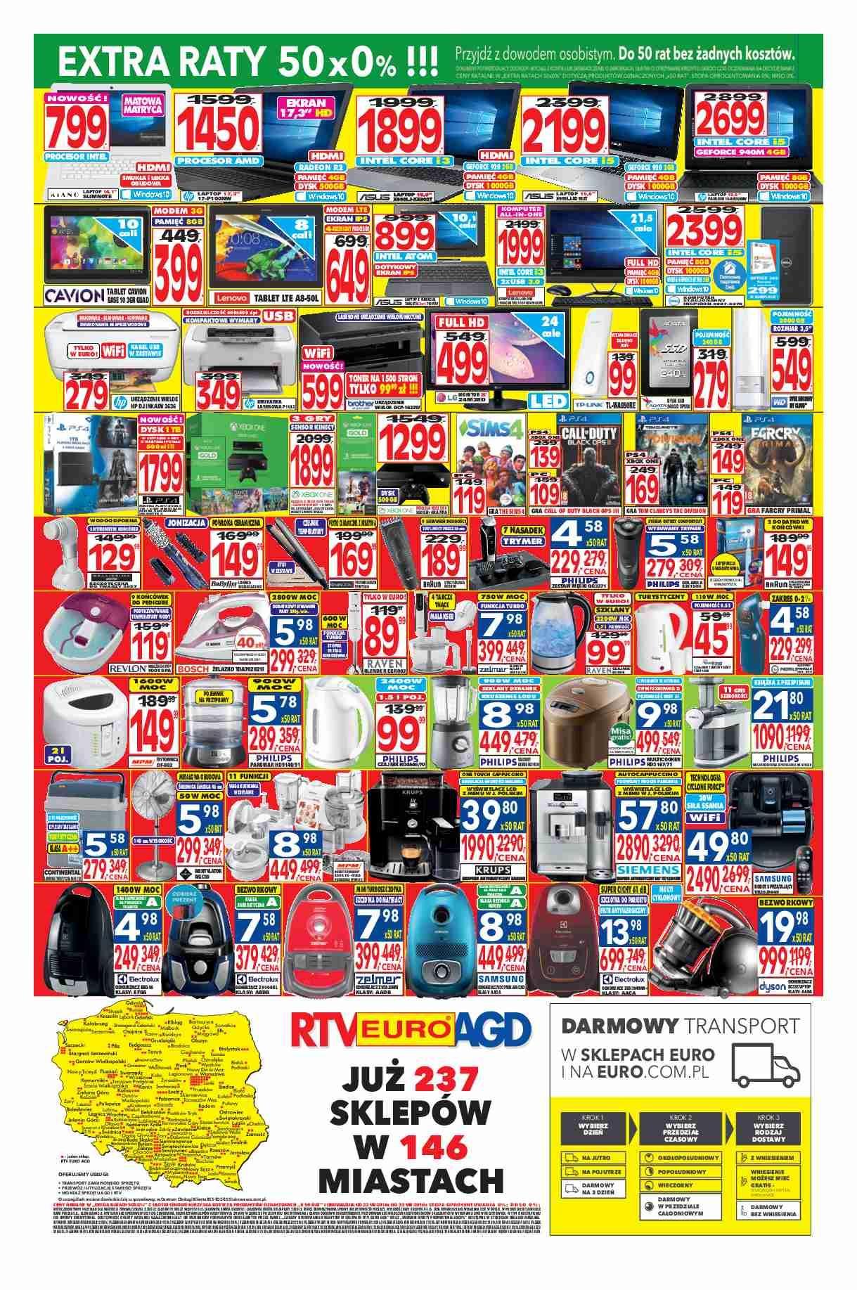 Gazetka promocyjna RTV Euro AGD do 22/08/2016 str.3