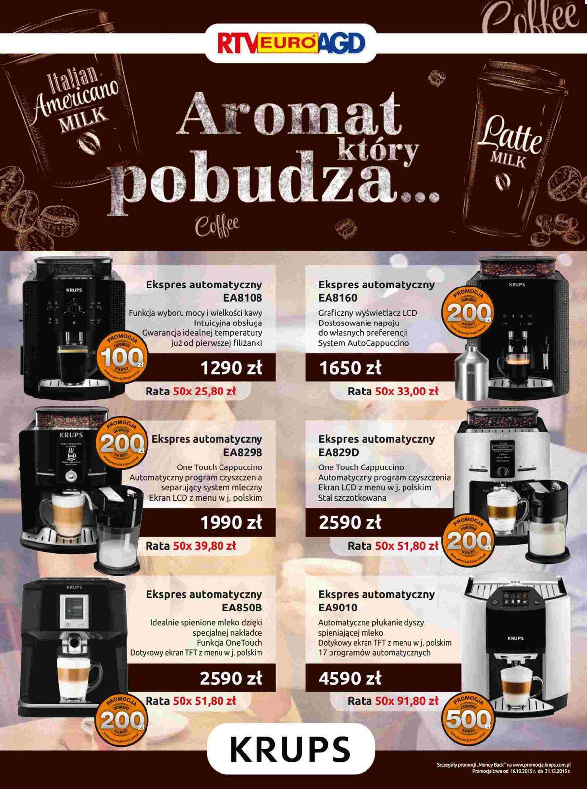 Gazetka promocyjna RTV Euro AGD do 31/12/2015 str.1