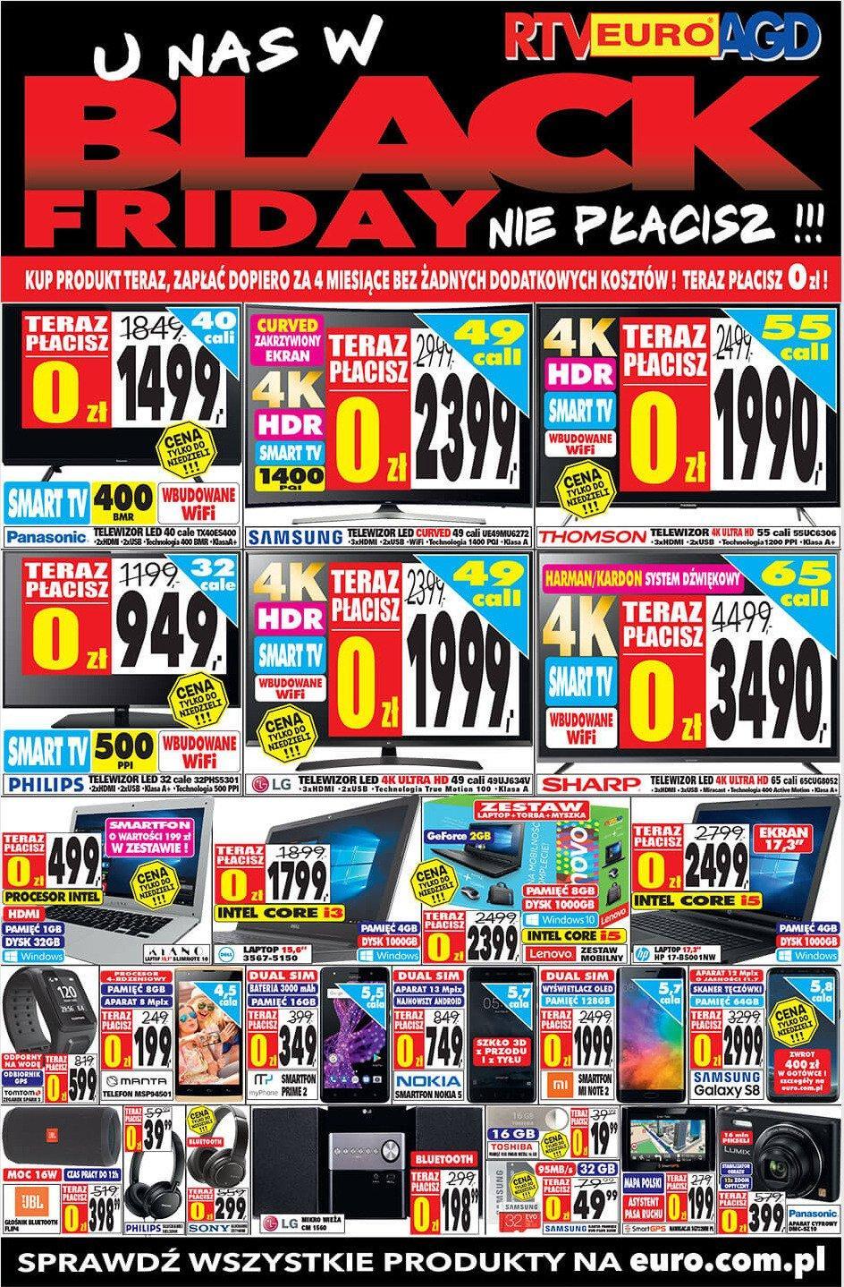 Gazetka promocyjna RTV Euro AGD do 26/11/2017 str.0