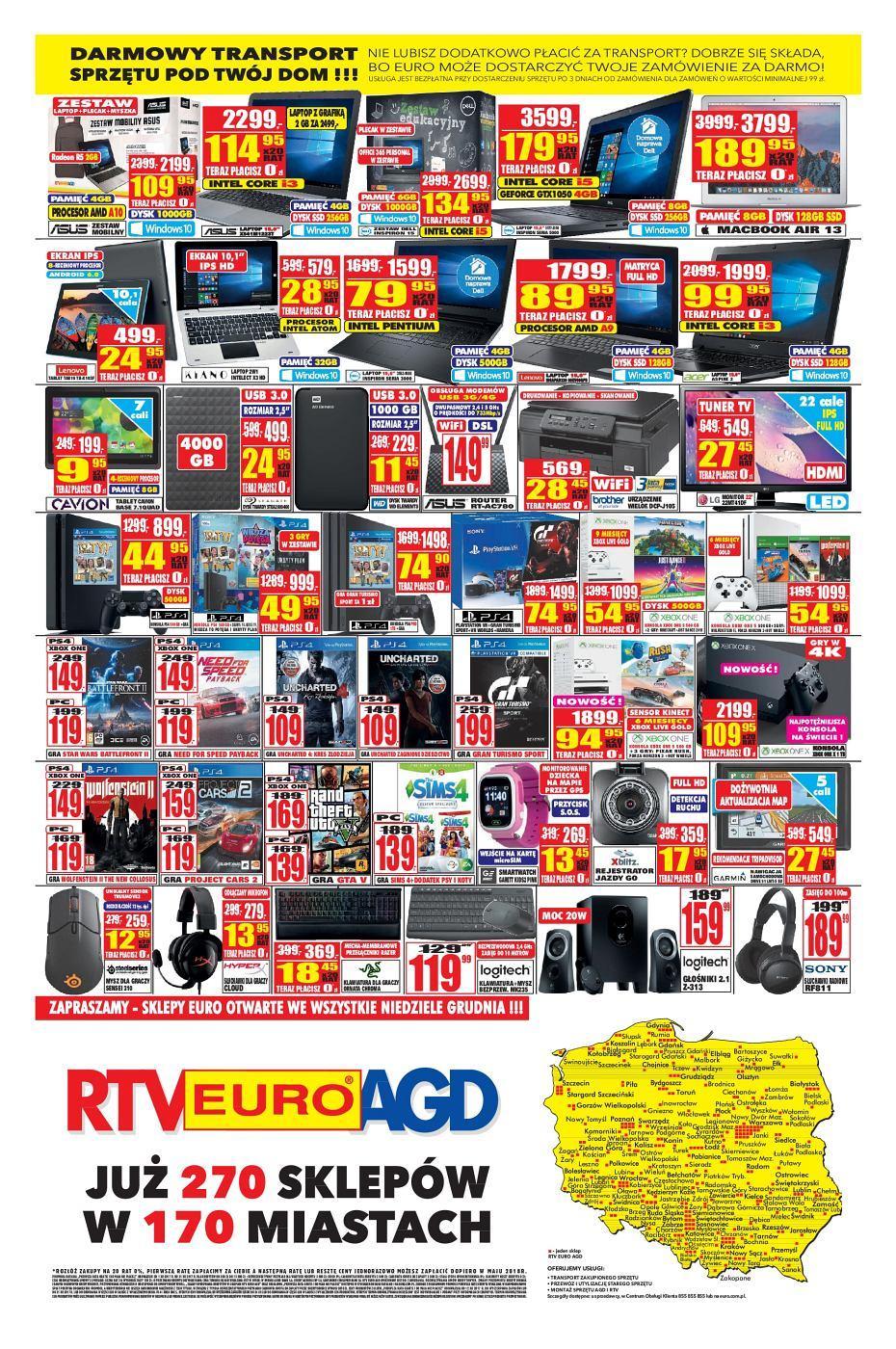 Gazetka promocyjna RTV Euro AGD do 31/12/2017 str.3
