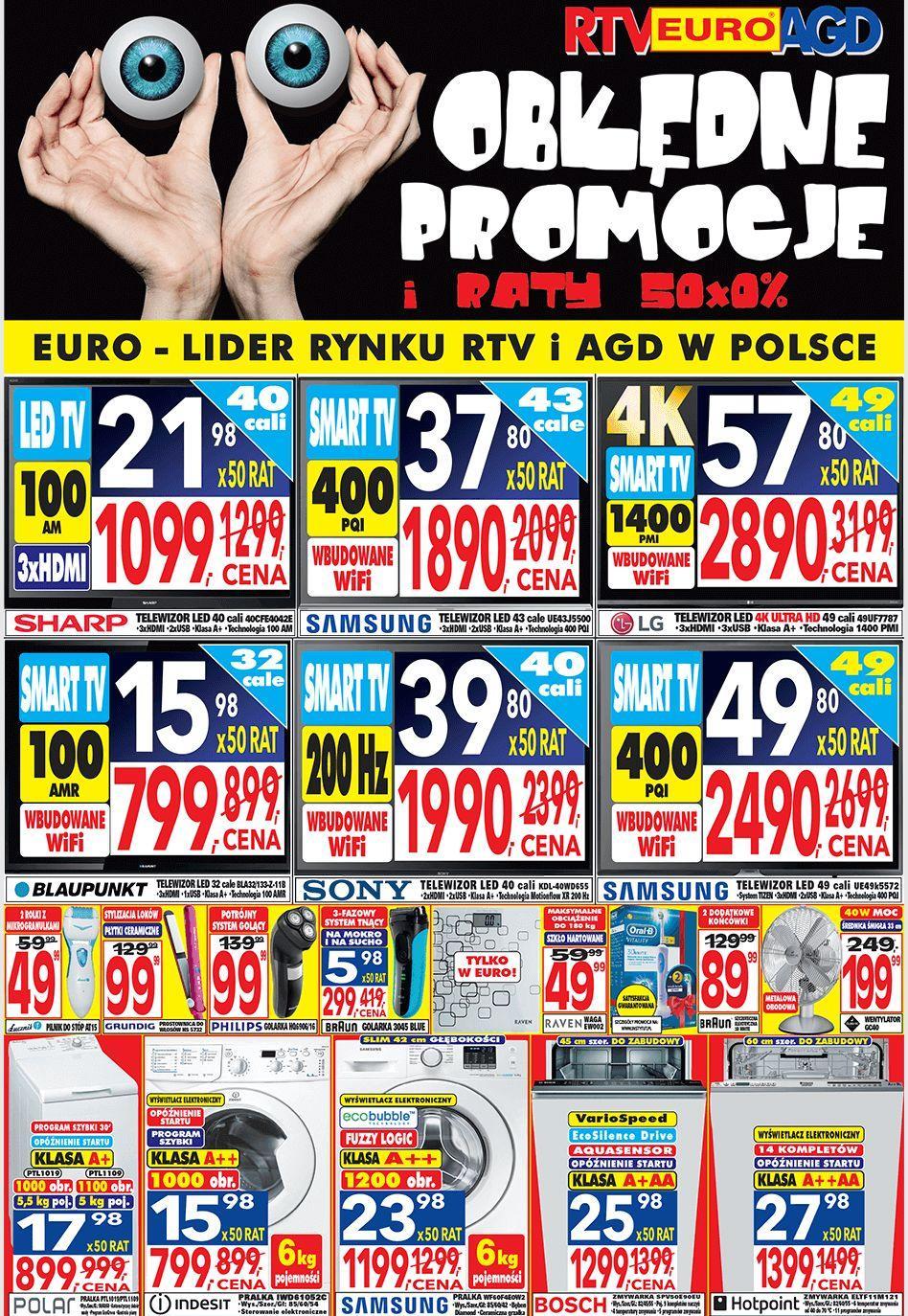 Gazetka promocyjna RTV Euro AGD do 22/07/2016 str.0