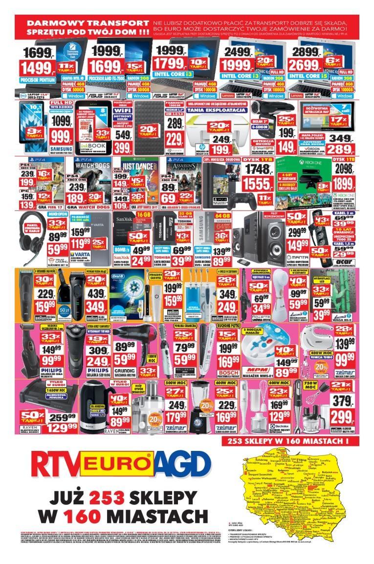 Gazetka promocyjna RTV Euro AGD do 31/12/2016 str.3