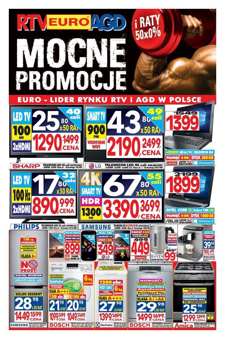Gazetka promocyjna RTV Euro AGD do 02/02/2017 str.0