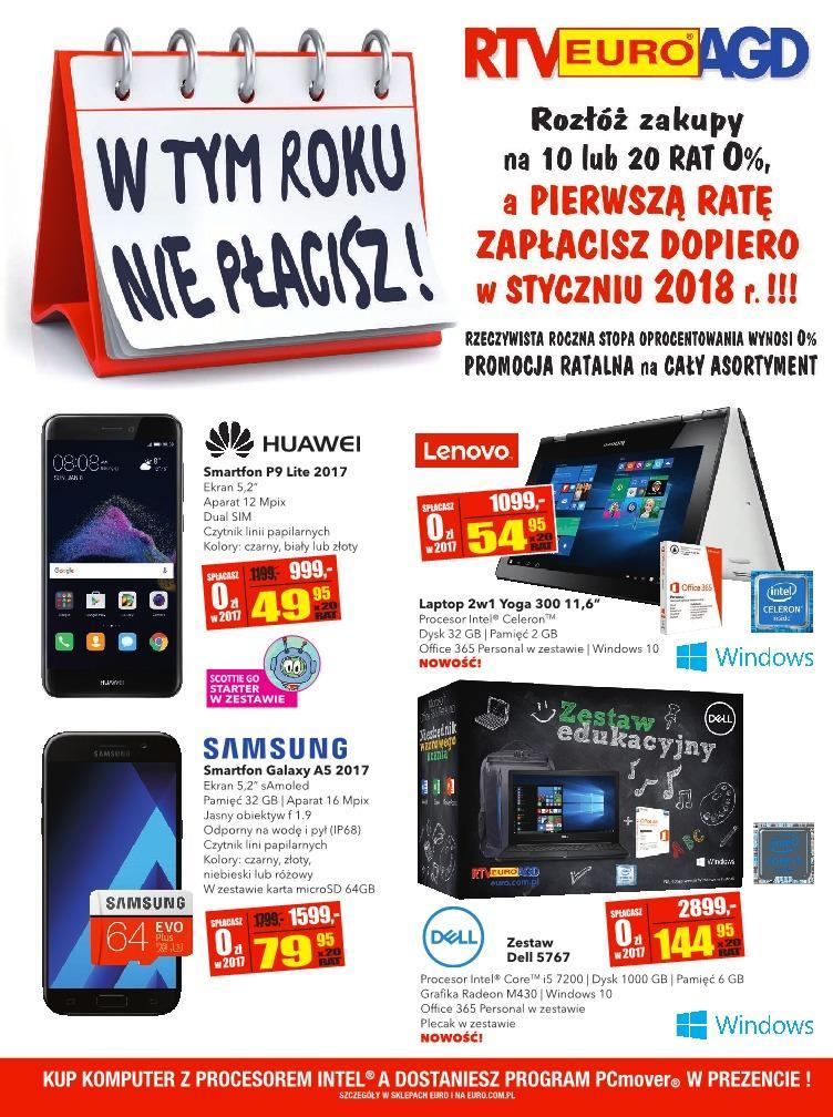 Gazetka promocyjna RTV Euro AGD do 02/10/2017 str.0