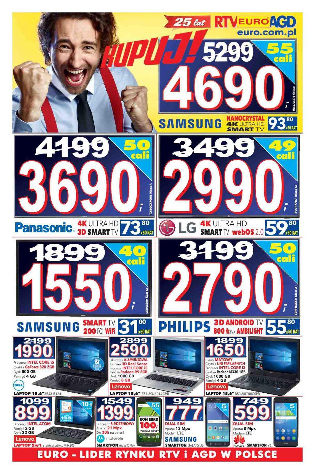 Gazetka promocyjna RTV Euro AGD do 31/12/2015 str.0