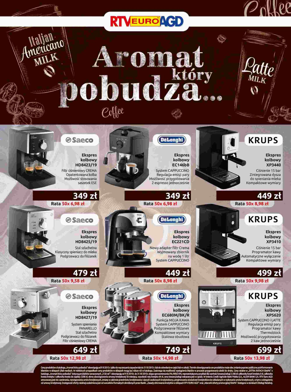 Gazetka promocyjna RTV Euro AGD do 31/12/2015 str.5
