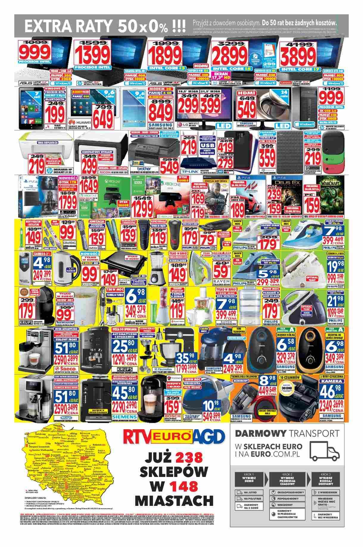 Gazetka promocyjna RTV Euro AGD do 03/10/2016 str.3