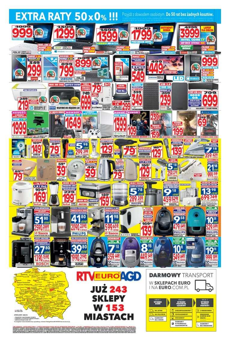 Gazetka promocyjna RTV Euro AGD do 22/11/2016 str.3