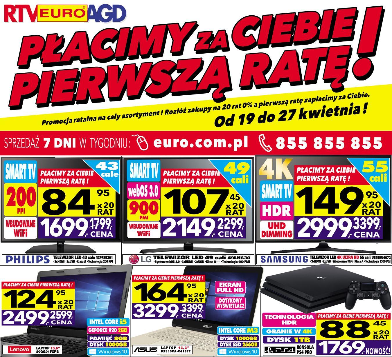 Gazetka promocyjna RTV Euro AGD do 27/04/2017 str.0