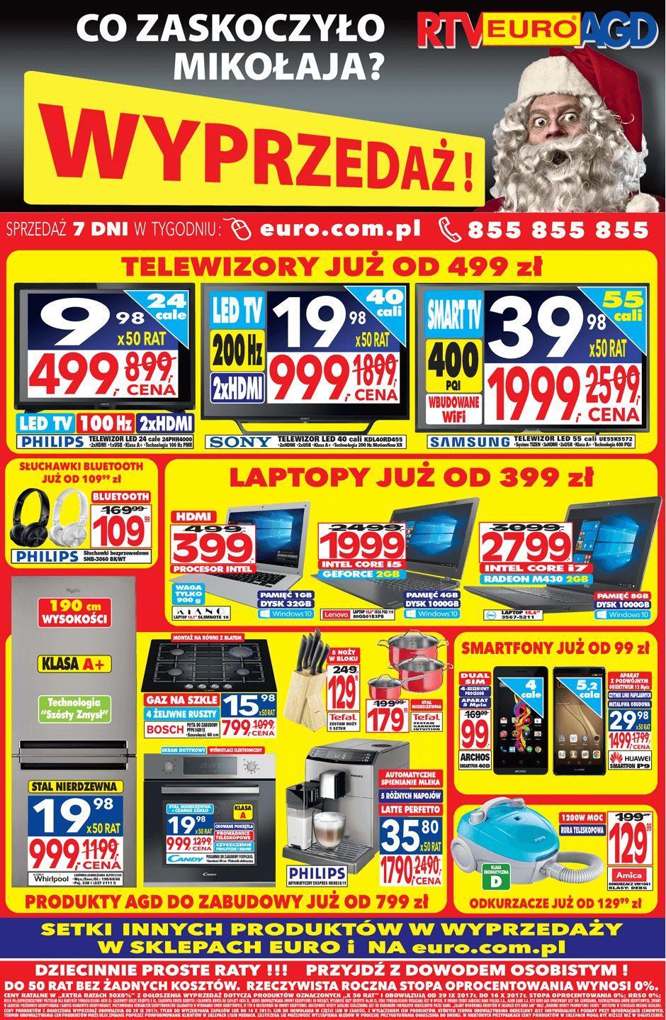 Gazetka promocyjna RTV Euro AGD do 16/10/2017 str.0