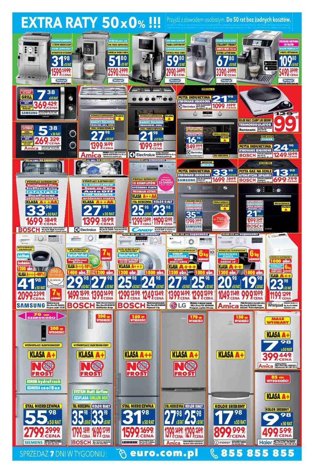 Gazetka promocyjna RTV Euro AGD do 31/05/2016 str.1