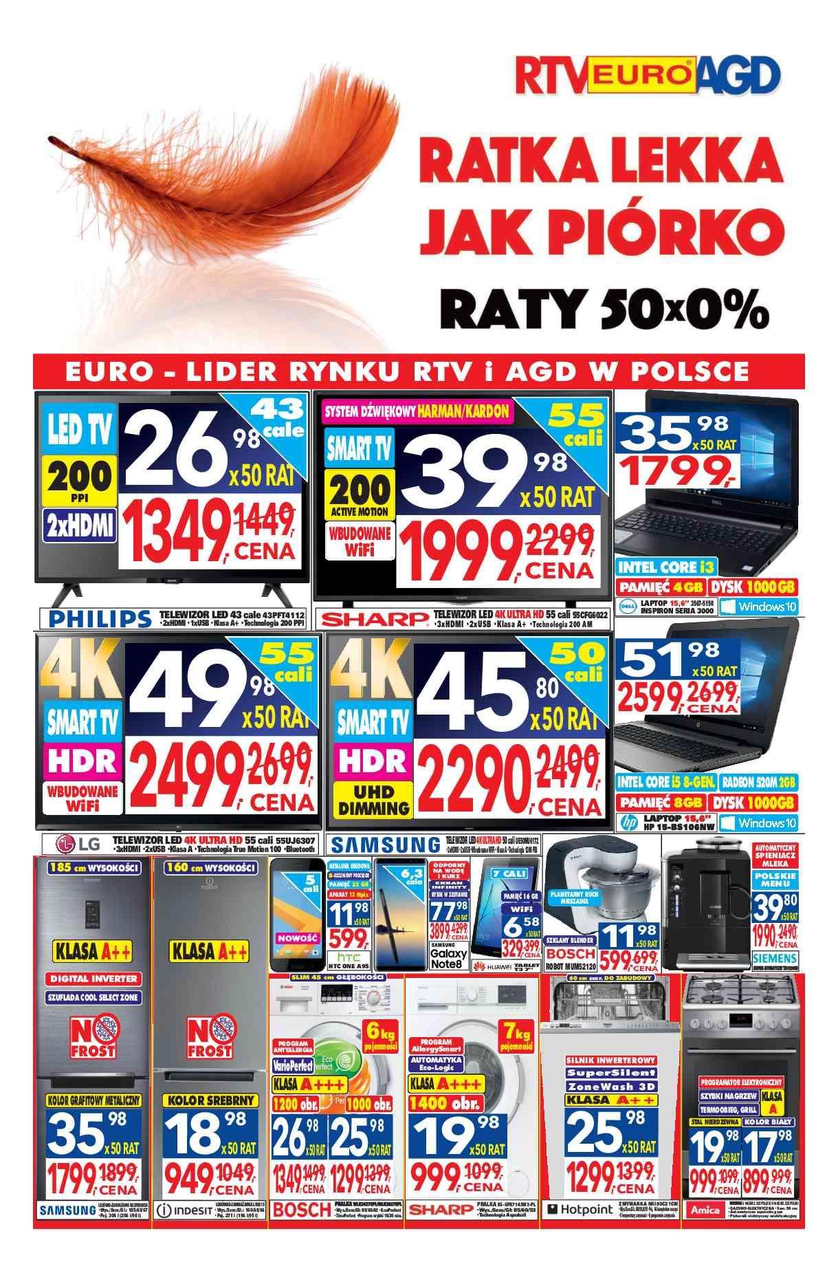 Gazetka promocyjna RTV Euro AGD do 08/02/2018 str.0