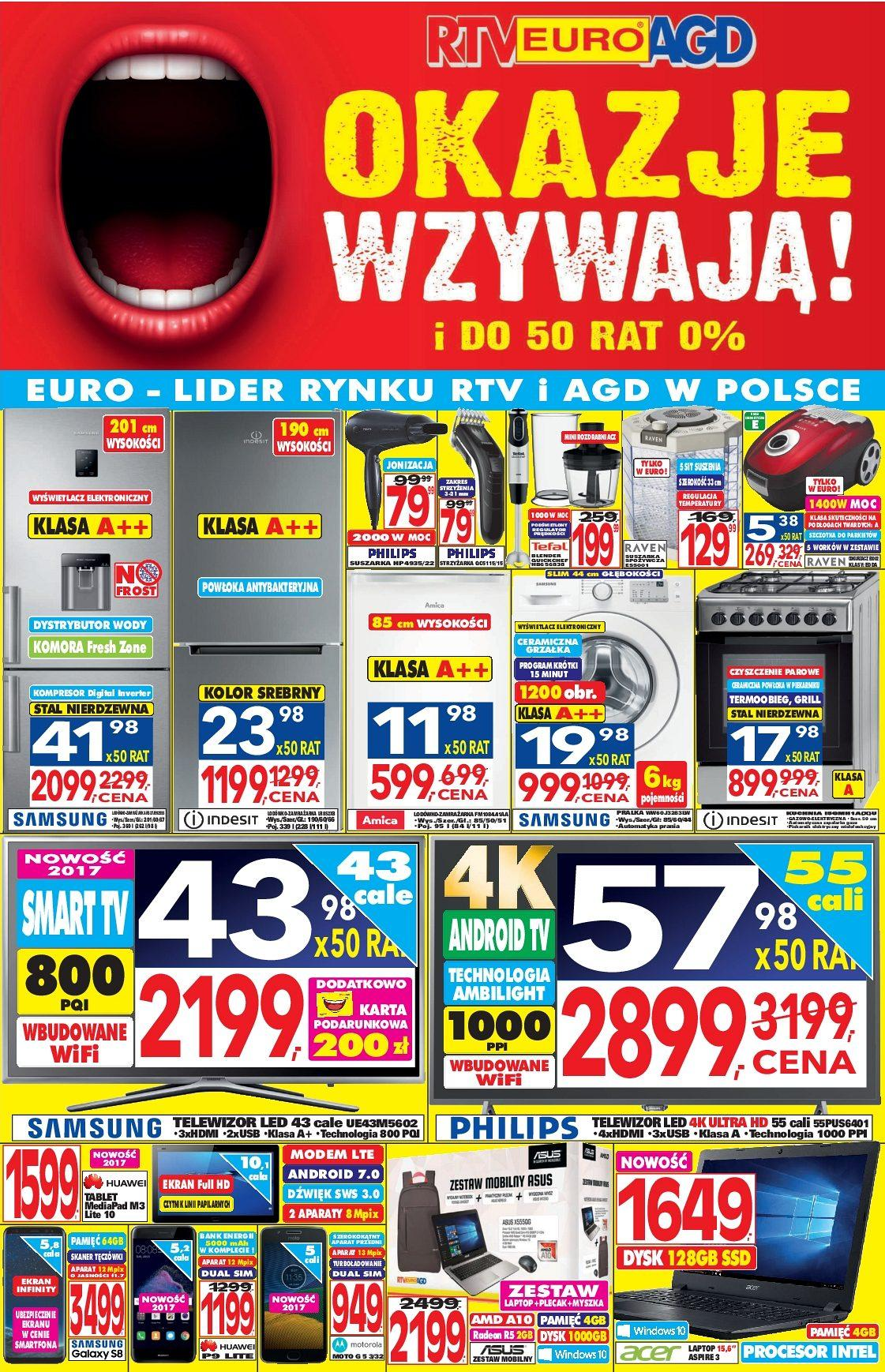Gazetka promocyjna RTV Euro AGD do 29/08/2017 str.0