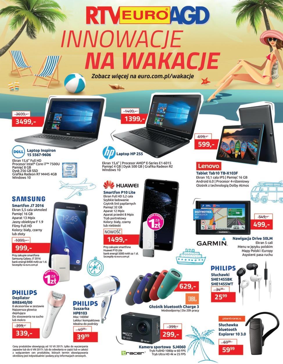 Gazetka promocyjna RTV Euro AGD do 06/08/2017 str.0