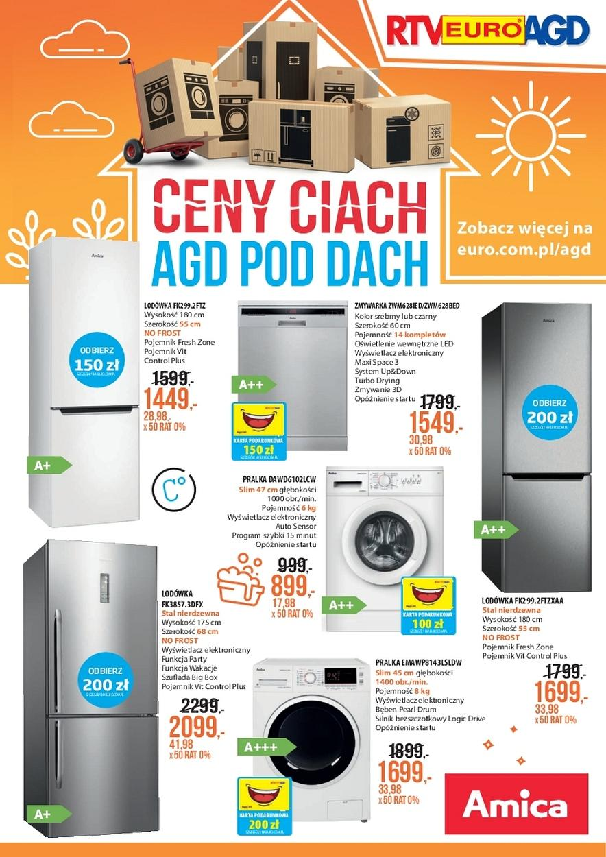 Gazetka promocyjna RTV Euro AGD do 21/08/2017 str.0