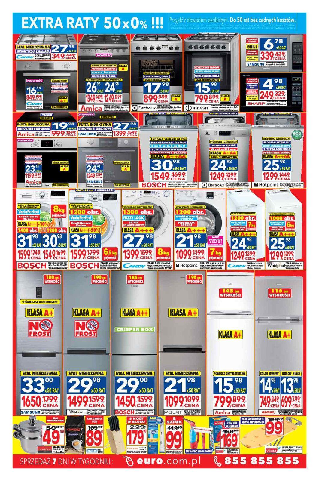 Gazetka promocyjna RTV Euro AGD do 10/05/2016 str.1