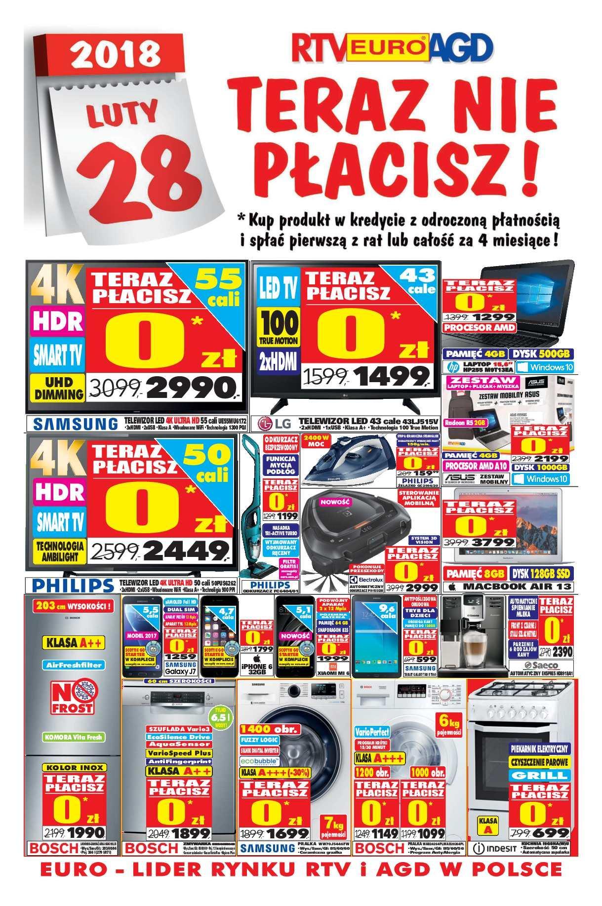 Gazetka promocyjna RTV Euro AGD do 30/11/2017 str.0