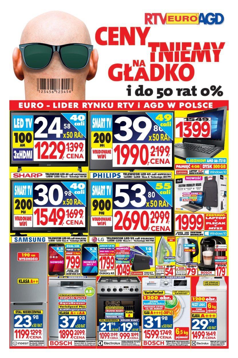 Gazetka promocyjna RTV Euro AGD do 28/03/2017 str.0