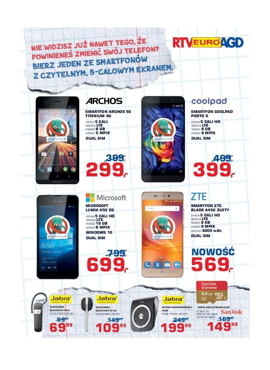 Gazetka promocyjna RTV Euro AGD do 03/10/2016 str.12