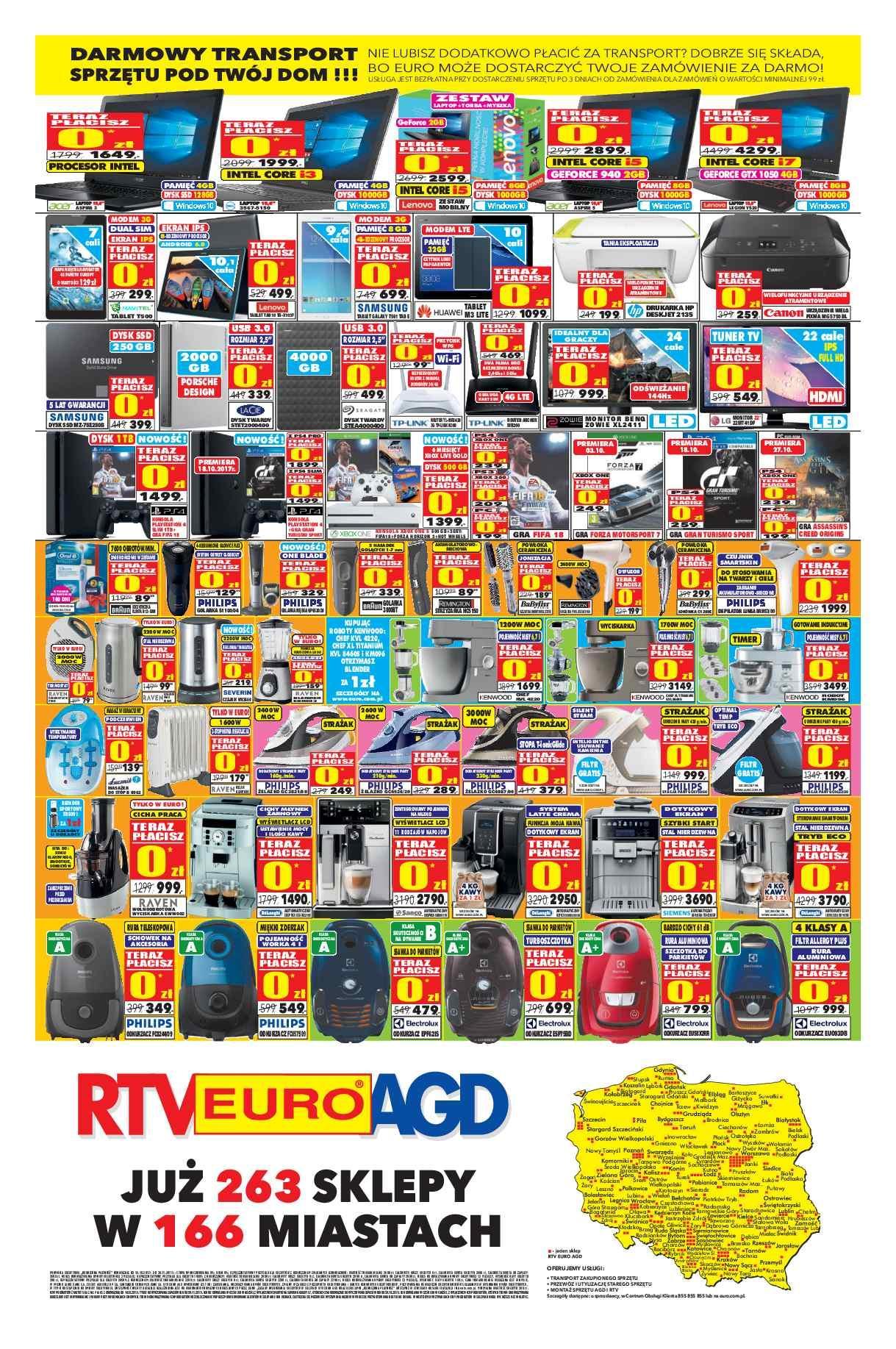 Gazetka promocyjna RTV Euro AGD do 30/11/2017 str.3