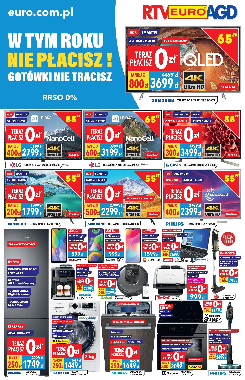 Gazetka promocyjna RTV Euro AGD do 09/07/2020 str.1