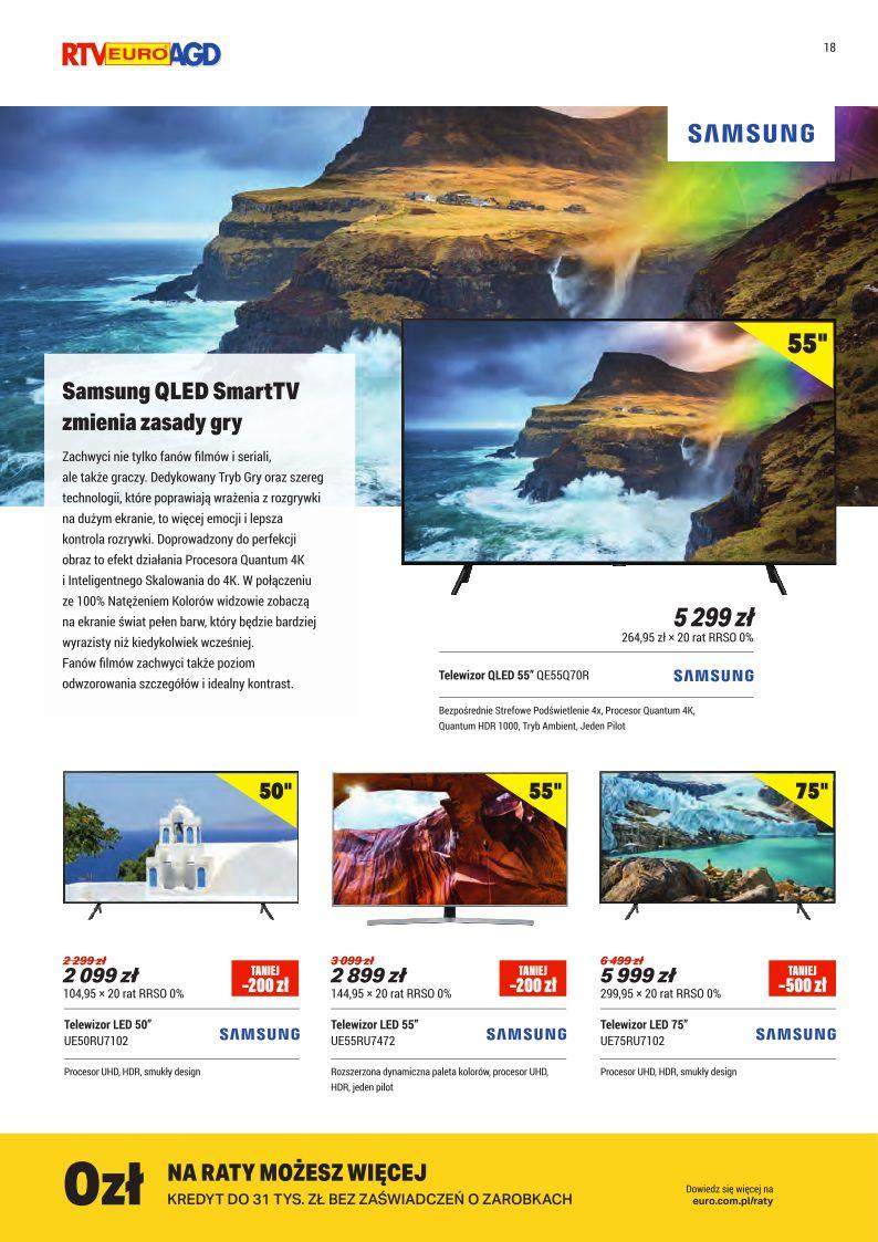 Gazetka promocyjna RTV Euro AGD do 30/09/2019 str.18
