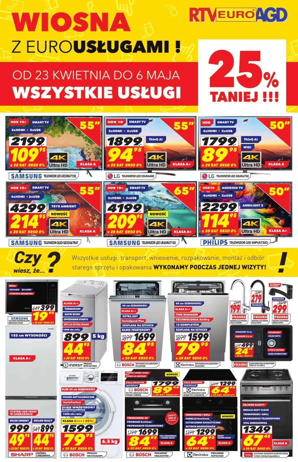 Gazetka promocyjna RTV Euro AGD do 06/05/2019 str.0