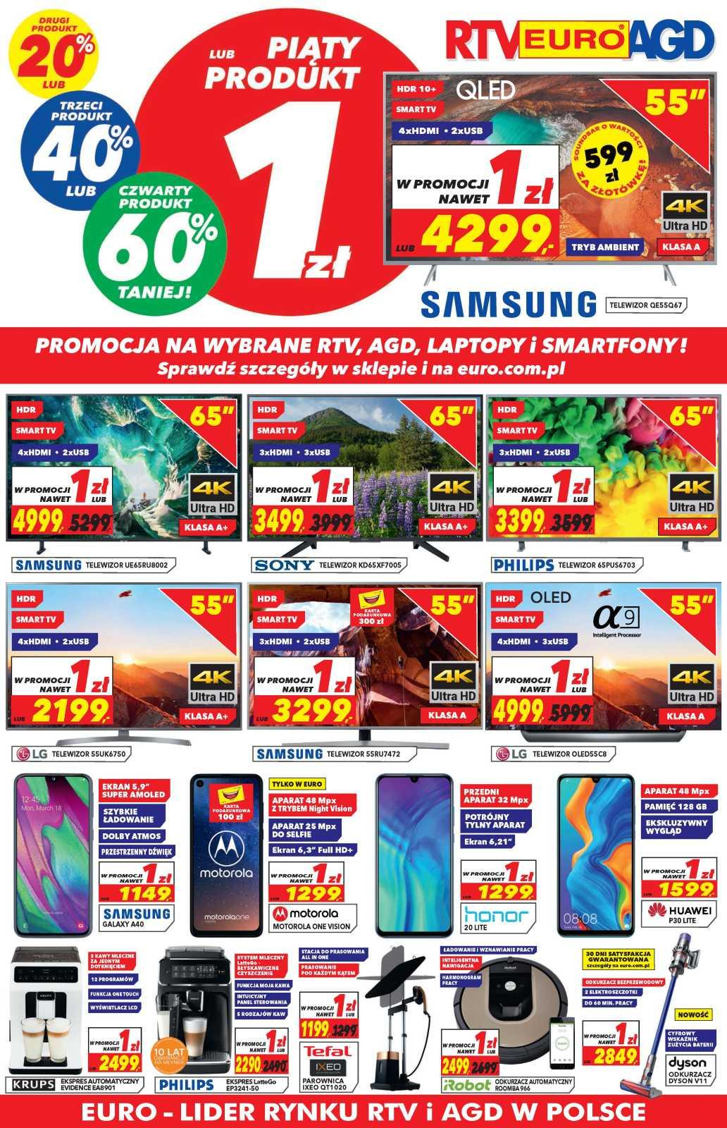 Gazetka promocyjna RTV Euro AGD do 01/07/2019 str.0