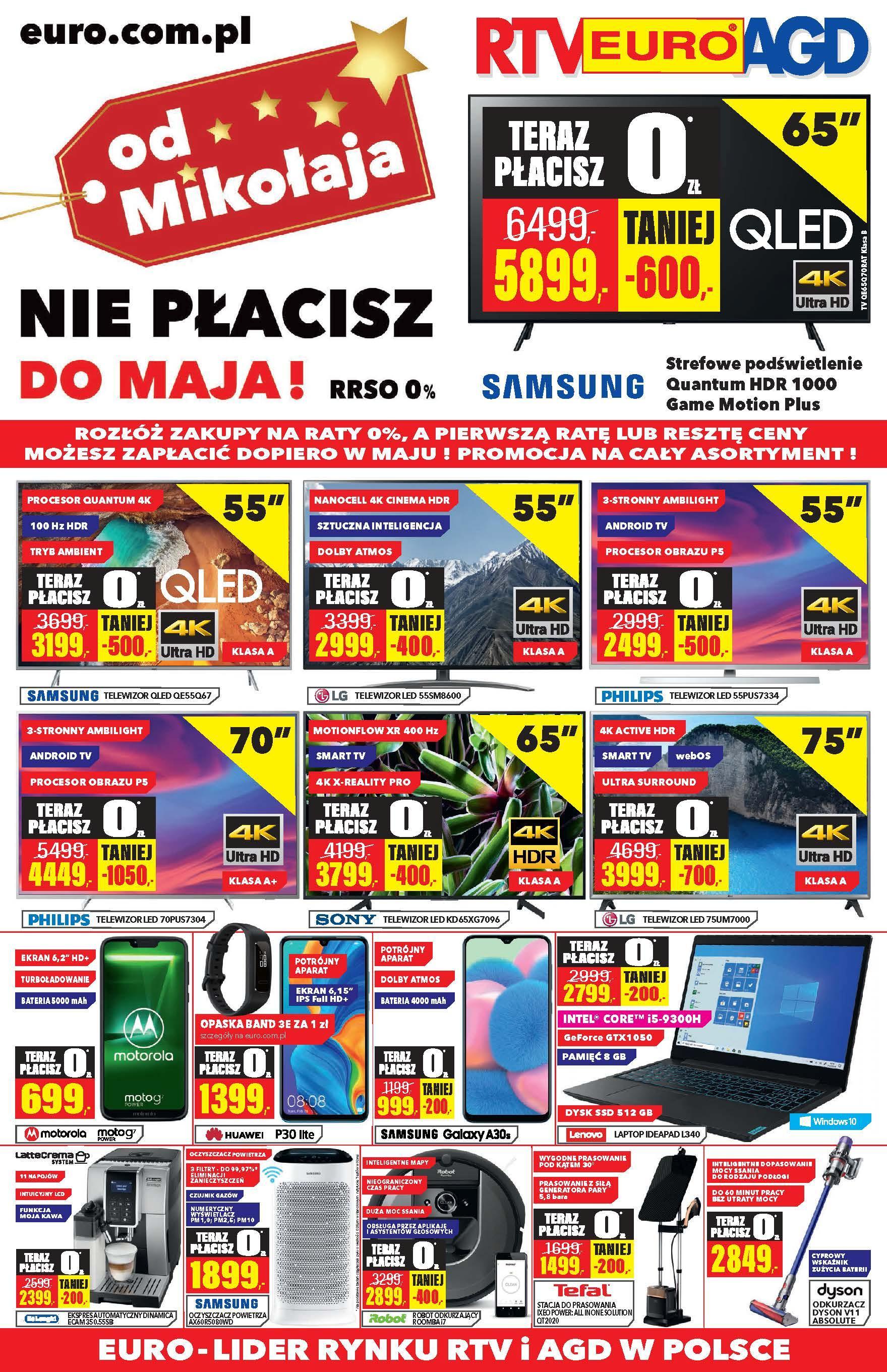 Gazetka promocyjna RTV Euro AGD do 31/12/2019 str.1
