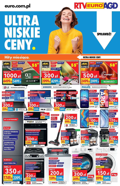 Gazetka promocyjna RTV Euro AGD do 30/09/2020 str.1