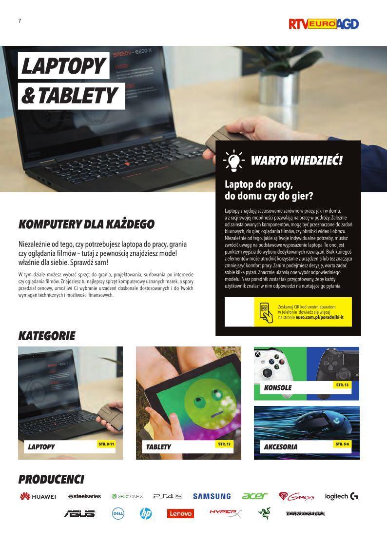 Gazetka promocyjna RTV Euro AGD do 30/09/2019 str.7