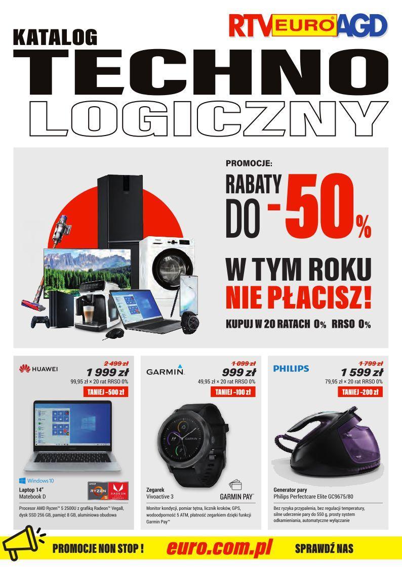 Gazetka promocyjna RTV Euro AGD do 30/09/2019 str.0