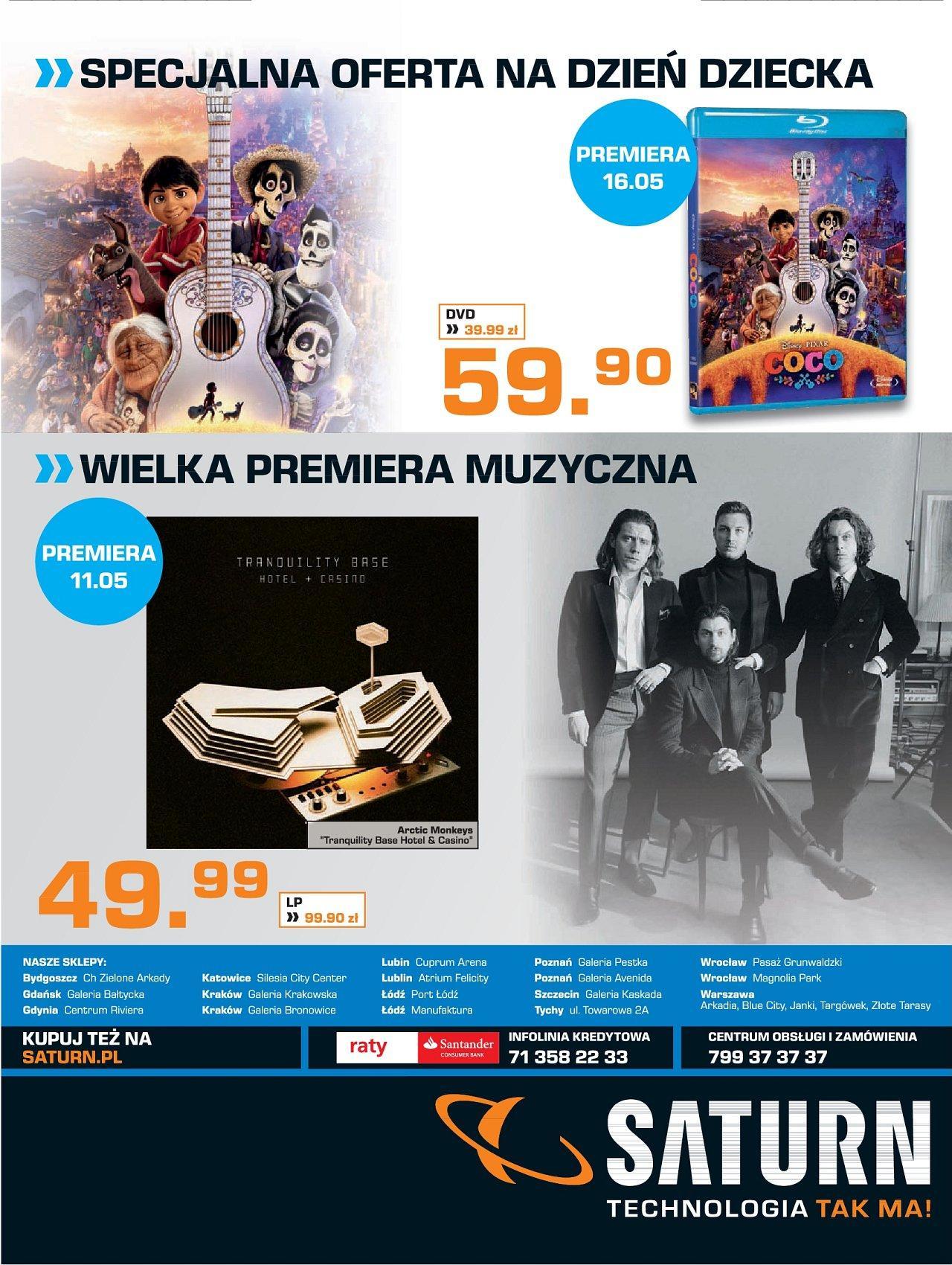 Gazetka promocyjna Saturn do 31/05/2018 str.23