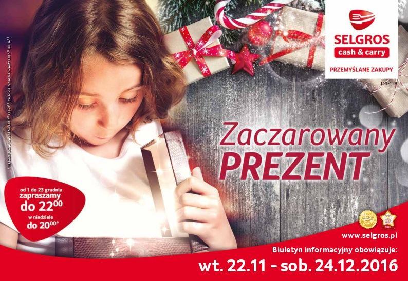 Gazetka promocyjna Selgros do 24/12/2016 str.0