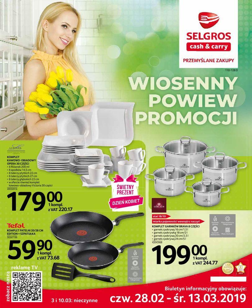 Gazetka promocyjna Selgros do 13/03/2019 str.0
