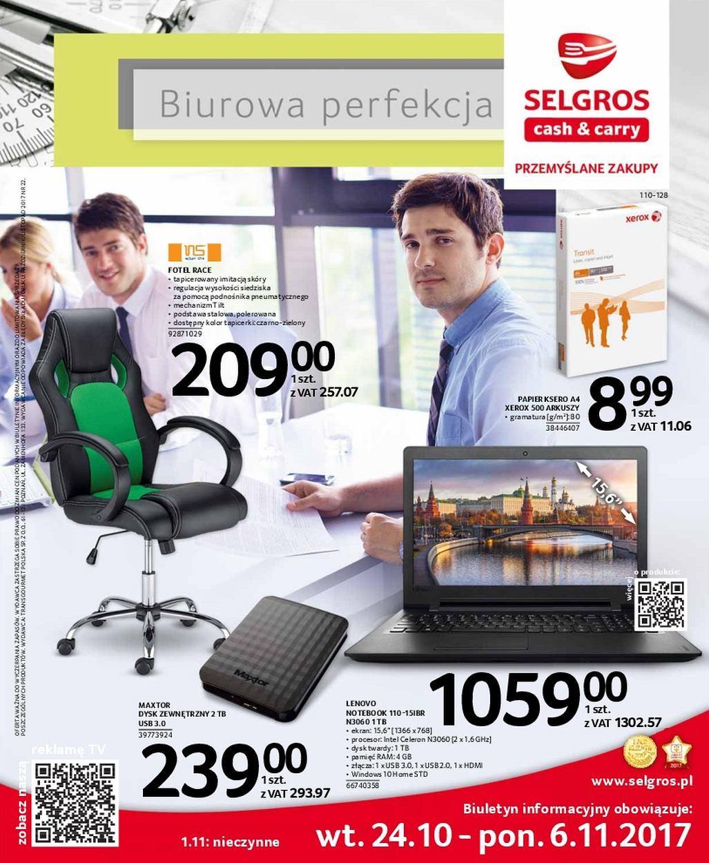 Gazetka promocyjna Selgros do 06/11/2017 str.0