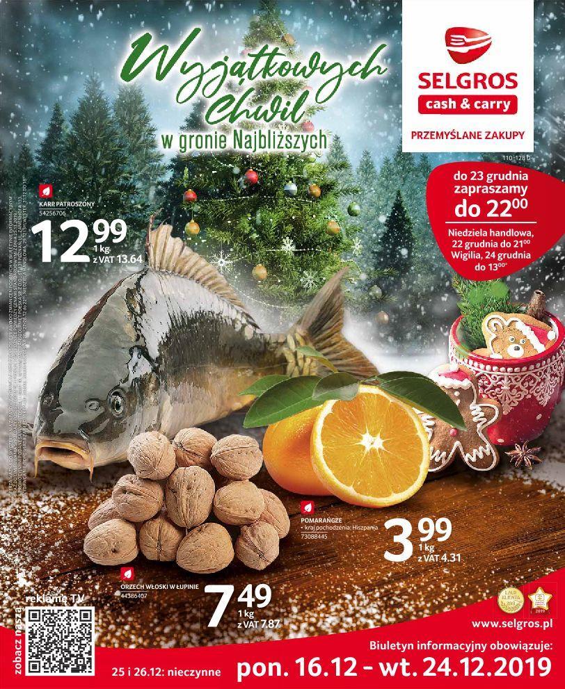 Gazetka promocyjna Selgros do 24/12/2019 str.0