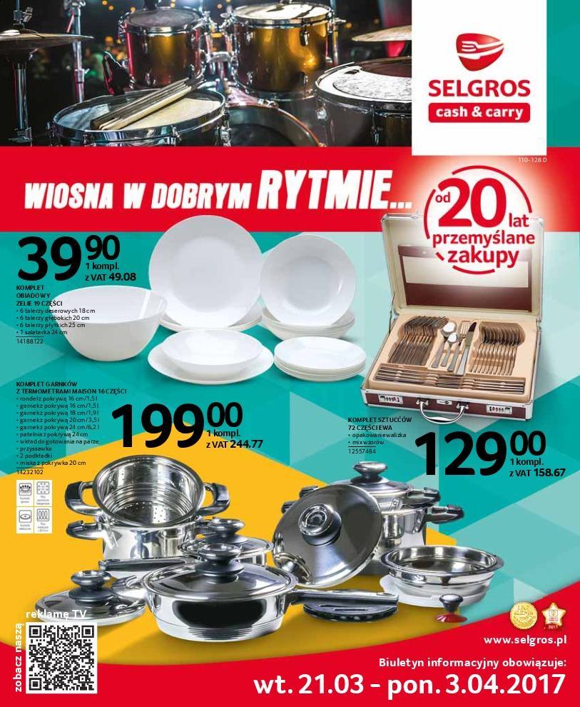 Gazetka promocyjna Selgros do 03/04/2017 str.0