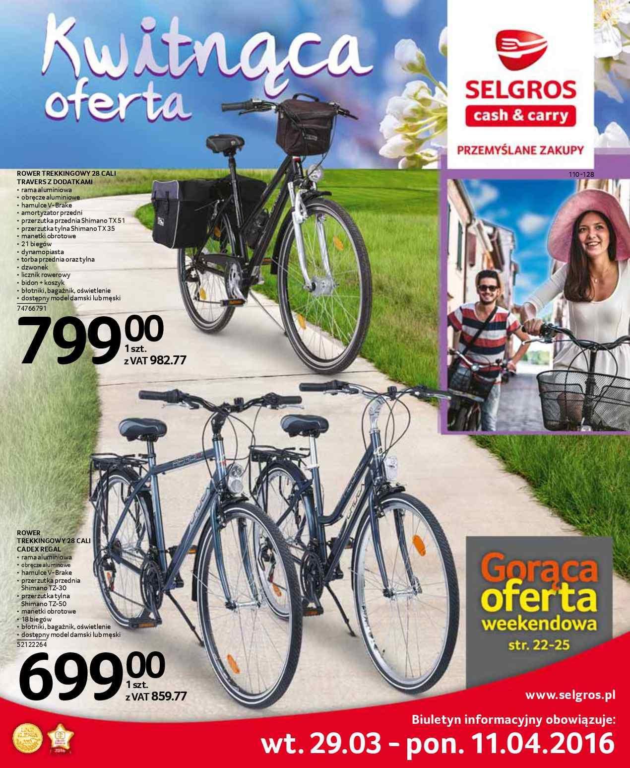 Gazetka promocyjna Selgros do 11/04/2016 str.0