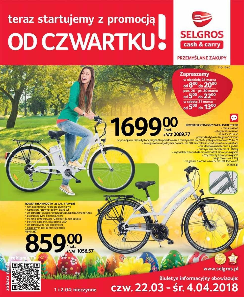 Gazetka promocyjna Selgros do 04/04/2018 str.0