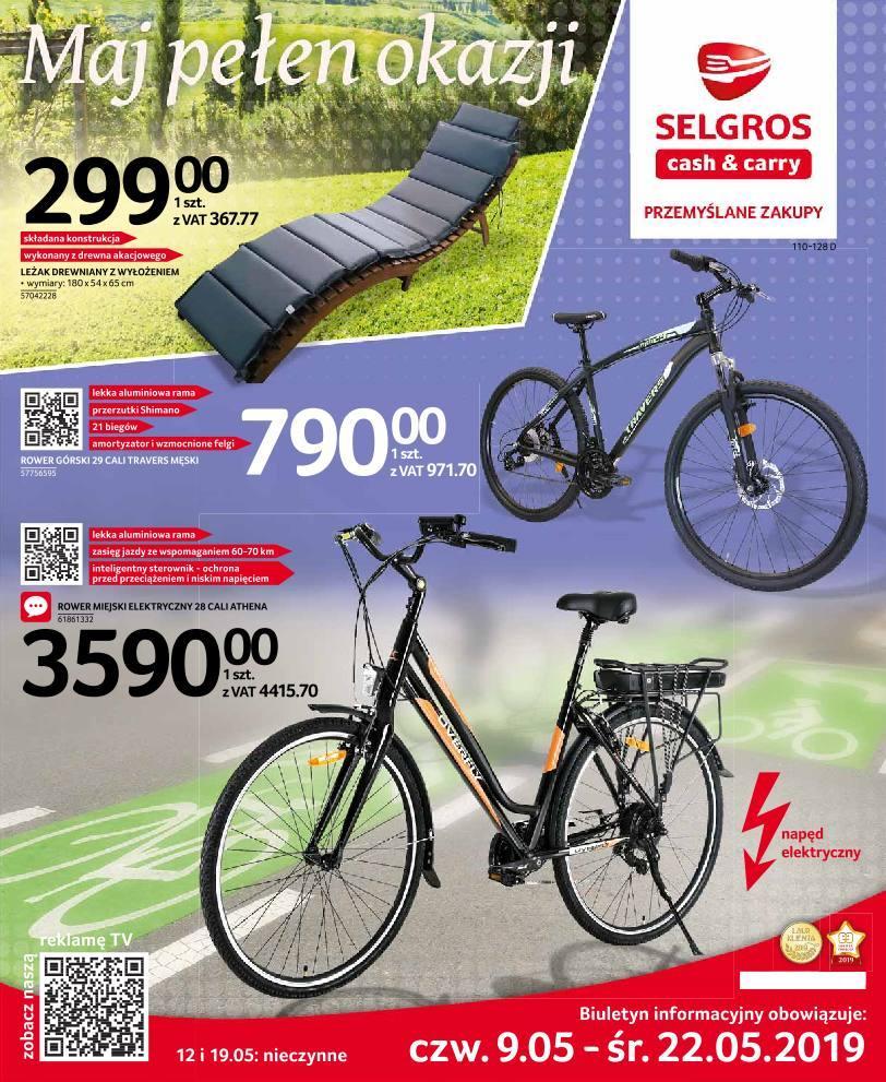 Gazetka promocyjna Selgros do 22/05/2019 str.1