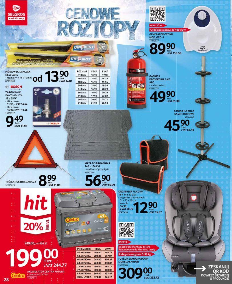 Gazetka promocyjna Selgros do 27/03/2019 str.27