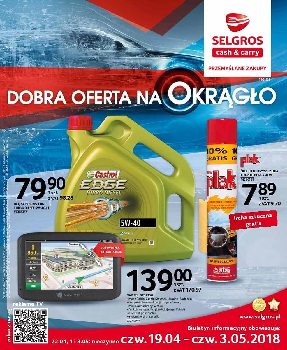 Gazetka promocyjna Selgros do 03/05/2018 str.0