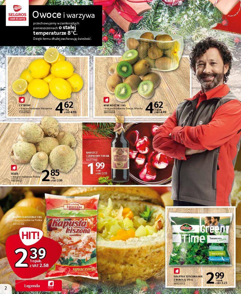 Gazetka promocyjna Selgros do 24/12/2018 str.1